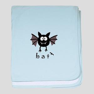 Bat baby blanket