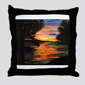 The View (from Sarah's Dream House)! Throw Pillow