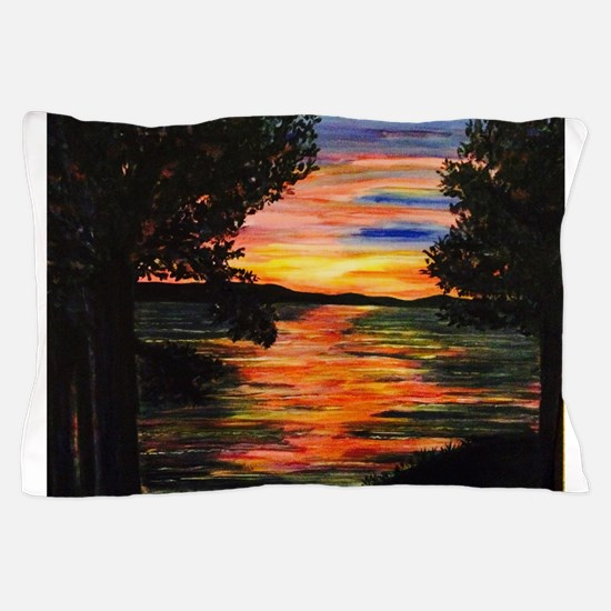 The View (from Sarah's Dream House)! Pillow Case
