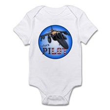 future pilot (AV-8B) Infant Bodysuit