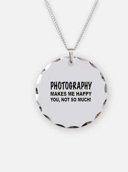 Unique Photography Necklace
