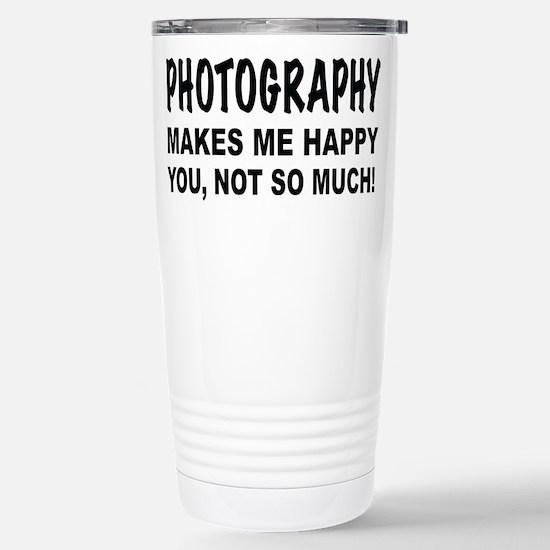 Unique Photography Travel Mug
