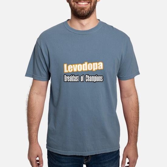 """Levodopa...Breakfast"" T-Shirt"