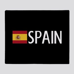 Spain: Spanish Flag & Spain Throw Blanket