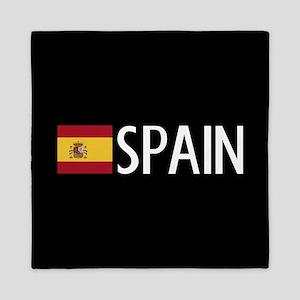 Spain: Spanish Flag & Spain Queen Duvet