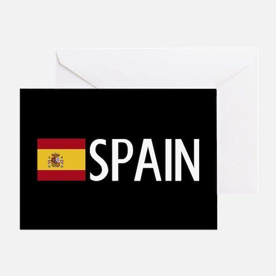 Spain: Spanish Flag & Spain Greeting Card