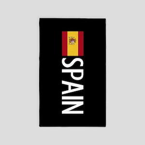 Spain: Spanish Flag & Spain Area Rug
