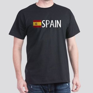 Spain: Spanish Flag & Spain Dark T-Shirt
