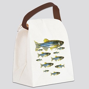Zebrafish Canvas Lunch Bag