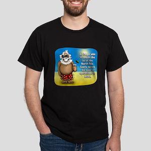 Santa's Relocated! Dark T-Shirt