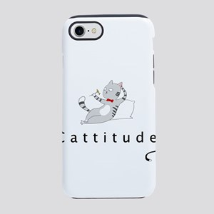 Cattitude iPhone 8/7 Tough Case