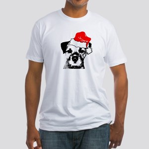 Tony Sez Merry Christmas Fitted T-Shirt