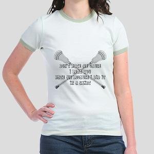 Lacrosse Women Hate Jr. Ringer T-Shirt