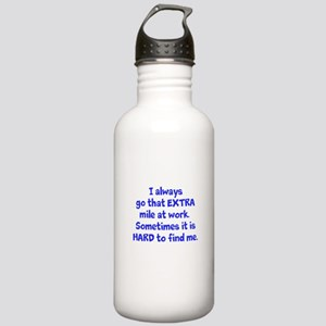 Extra Mile Humor Water Bottle