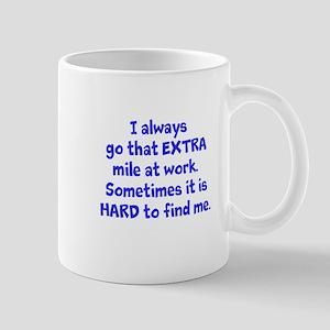 Extra Mile Humor Mugs