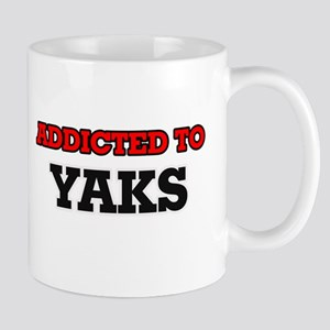 Addicted to Yaks Mugs