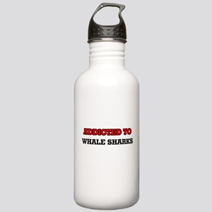 Addicted to Whale Shar Stainless Water Bottle 1.0L