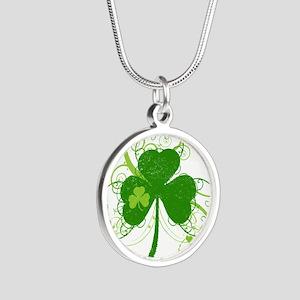 St Paddys Day Fancy Shamrock Necklaces