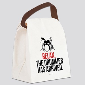 Relax Drummer Has Arrived Canvas Lunch Bag