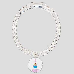 Cupcake Charm Bracelet, One Charm
