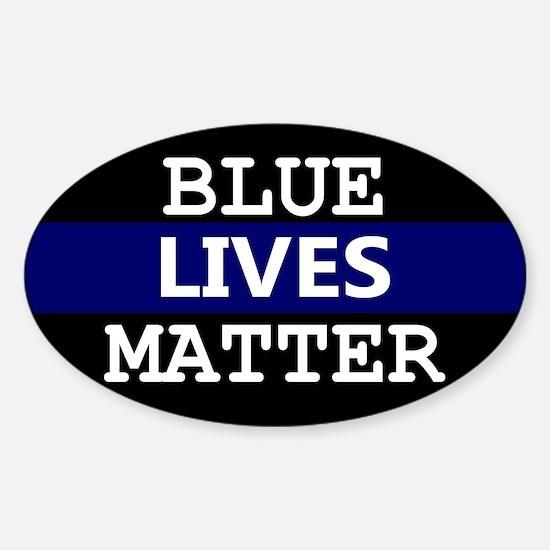 Blue Lives Matter Blue Stripe Decal