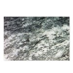 Black and White Rock at Beach Postcards (Package o
