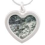 Black and White Rock at Beach Necklaces