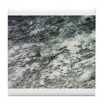 Black and White Rock at Beach Tile Coaster