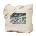 Black and White Rock at Beach Tote Bag