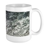 Black and White Rock at Beach Mugs