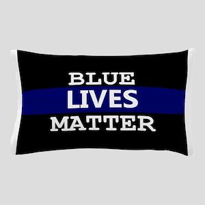 Blue Lives Matter Blue Stripe Pillow Case