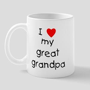 I love my great grandpa Mug