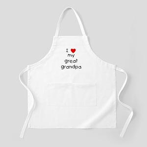 I love my great grandpa Apron
