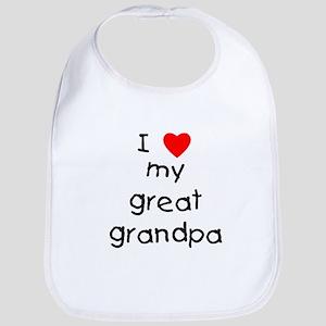 I love my great grandpa Bib