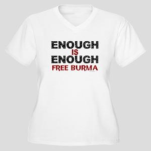 Enough Is Enough (Burma) 1.2 Women's Plus Size V-N