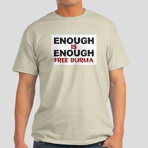 Enough Is Enough (Burma) 1.2 Light T-Shirt