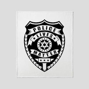 Police Matter Throw Blanket