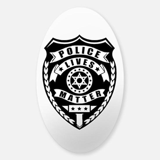 Police Matter Sticker (Oval)