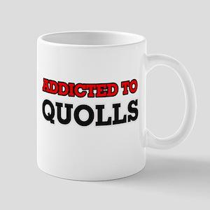 Addicted to Quolls Mugs