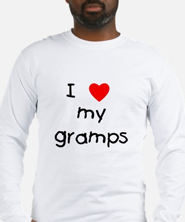 I love my gramps Long Sleeve T-Shirt