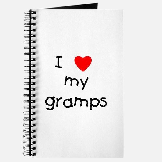 I love my gramps Journal