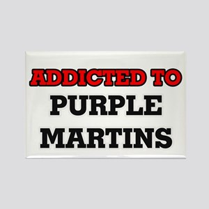 Addicted to Purple Martins Magnets