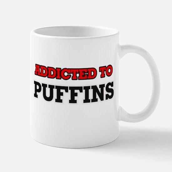 Addicted to Puffins Mugs