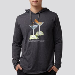 cocktailwienersduo8x10whitetext Long Sleeve T-Shir