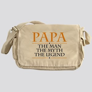 Papa Man Myth Legend Messenger Bag