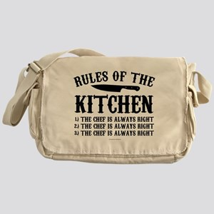 Rules of the Kitchen Messenger Bag