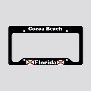 Cocoa Beach, FL License Plate Holder