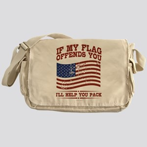 If My Flag Offends Messenger Bag