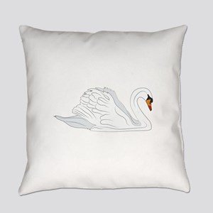 Swan Everyday Pillow