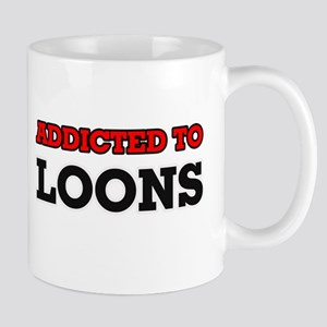 Addicted to Loons Mugs